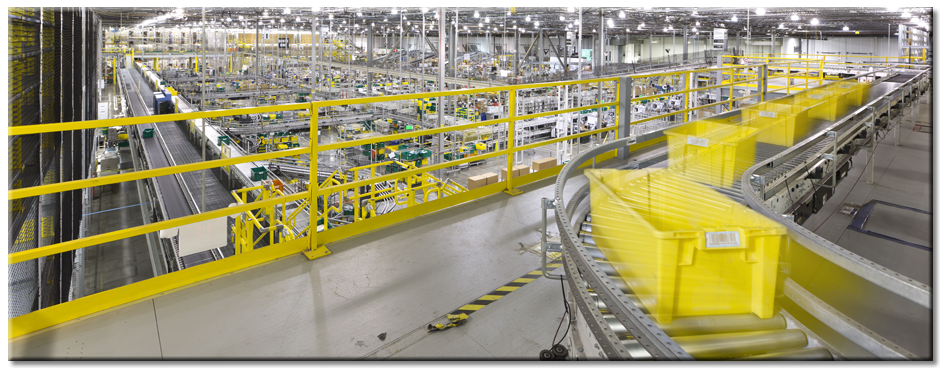Amazon Fufillment Center Innovation