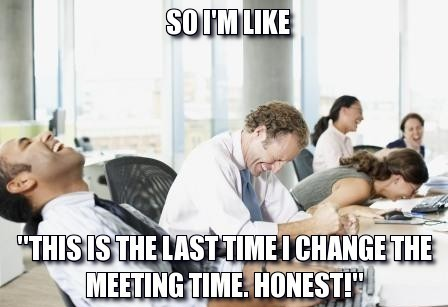 Changed-Meeting-Time