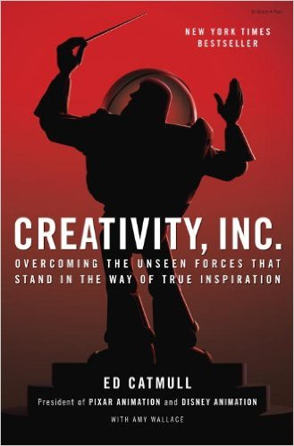 Creativity INC Pixar Book Innovation