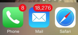 Too-many-emails