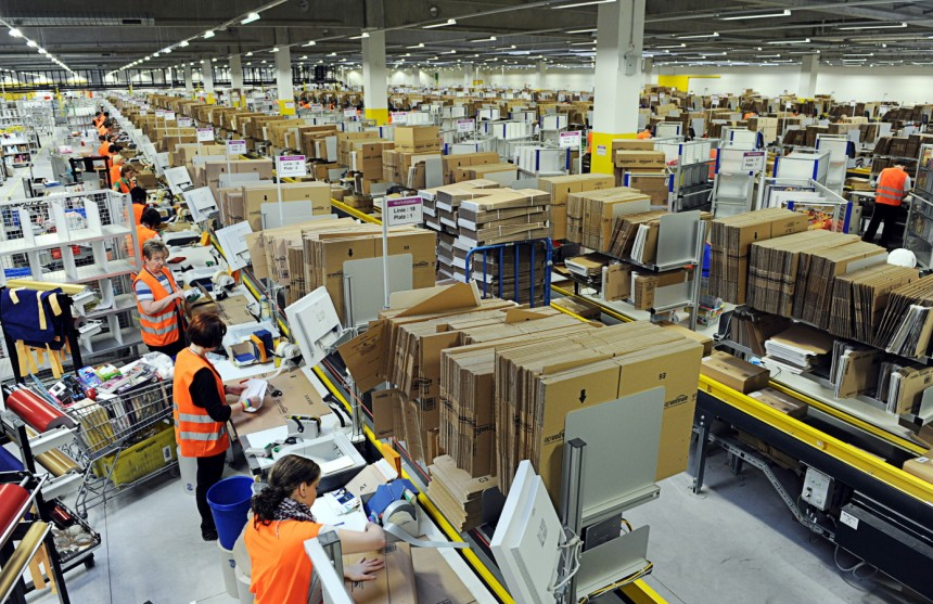 Amazon Warehousing System